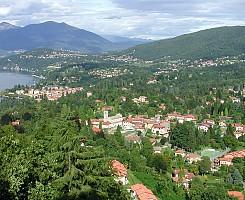 In collina, sul Lago Maggiore